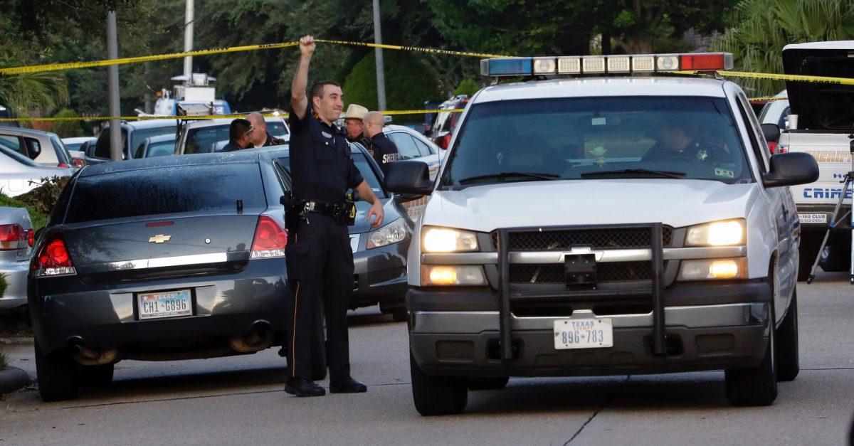 CORRECTION Houston Home Mass Shooting