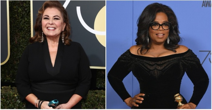 "Roseanne Barr weighs in on ""Oprah 2020"" — Is she throwing her hat in the ring?"