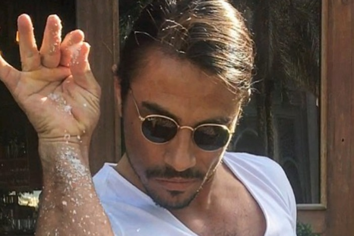 "New video of ""Salt Bae"" emerges online, and people have problems with it"
