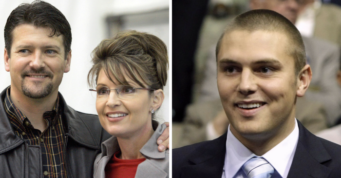 Sarah Palin's son Track enters his pleas in the brutal break-in and beating that forced his father to draw his gun