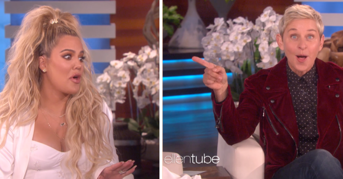 Ellen is convinced Khloé Kardashian just confirmed Kylie Jenner's pregnancy on her show