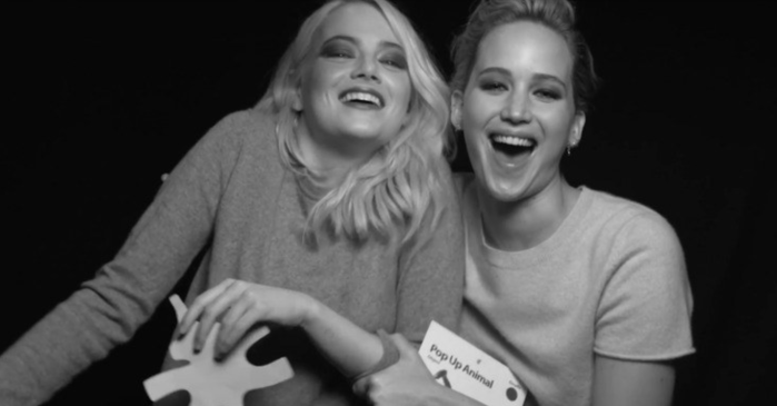 Emma Stone and Jennifer Lawrence had the same stalker — and it worked out great