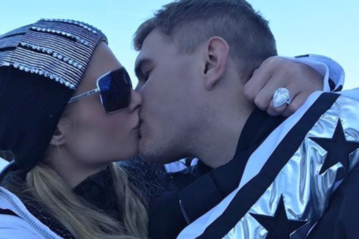 Paris Hilton has a security team following her to protect her newest piece of jewelry