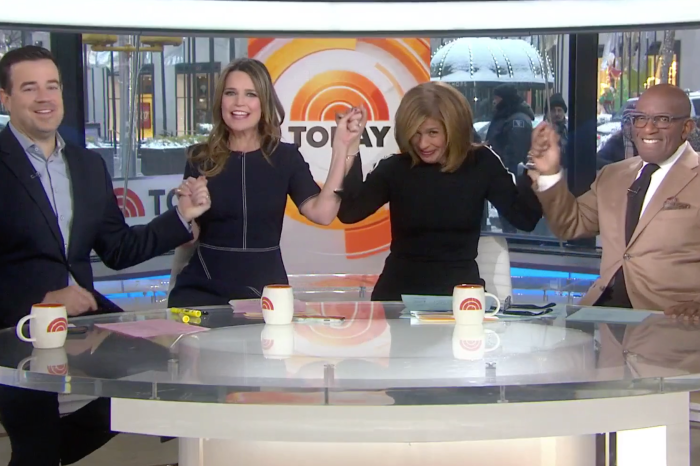 """Today"" had something extra special to share with Hoda after her first week in Matt Lauer's old chair"