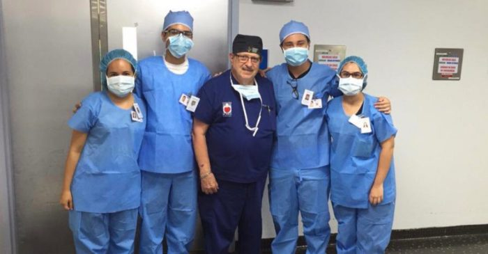 A Puerto Rican heart surgeon came to Houston for a dose of his own medicine