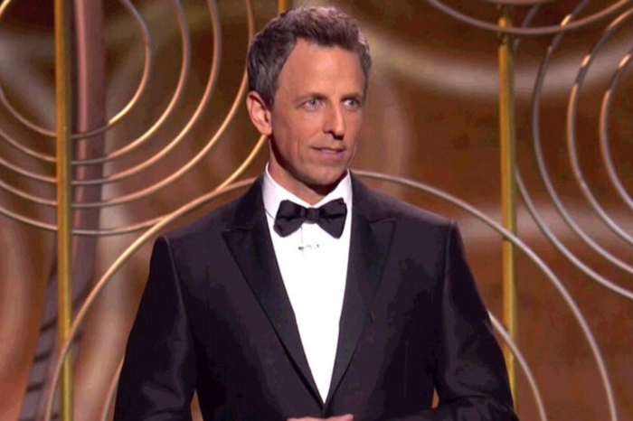Everyone gasped when Seth Meyers joked about Harvey Weinstein's death at the Golden Globes