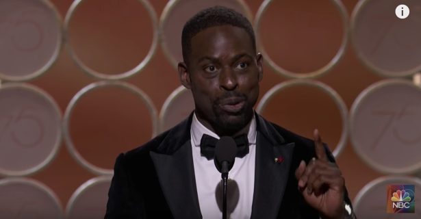 Sterling K. Brown makes history at the Golden Globes — and we couldn't be happier