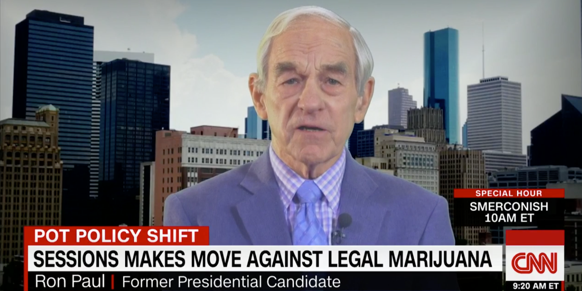 Ron Paul says Jeff Sessions should resign