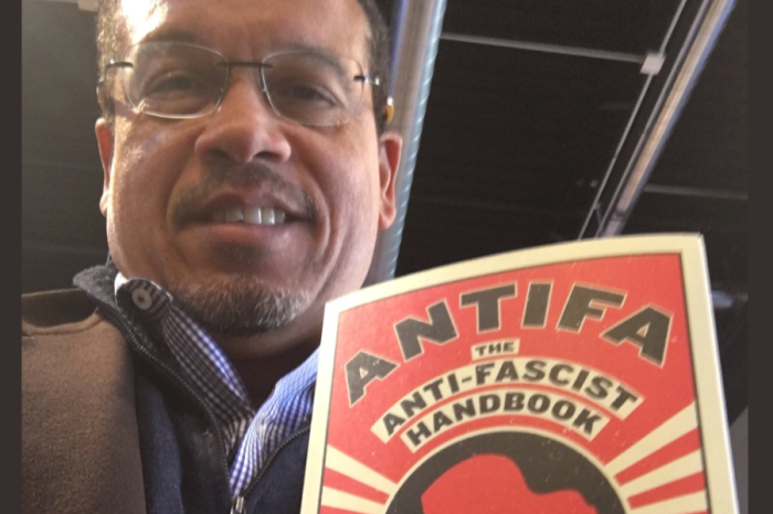 Democrat Keith Ellison undermines freedom when he cheers Antifa's culture of fear and violence
