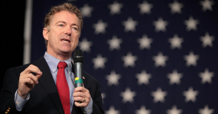 """Rand Paul says America will go the way of Rome if """"inexcusable"""" spending doesn't stop"""