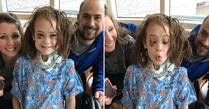 A dad's plea for prayers following his daughter's hospitalization has quickly gone viral