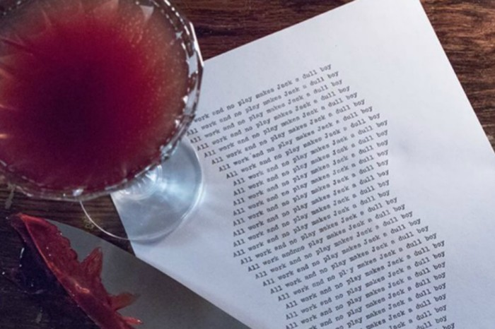 Come visit the 'The Shining' inspired pop-up bar..forever..and ever