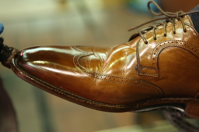 Shoe shines with passion, polish, and a touch of soul