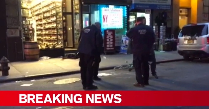 Three people have been shot in Midtown Manhattan blocks from Penn Station — here's what we know