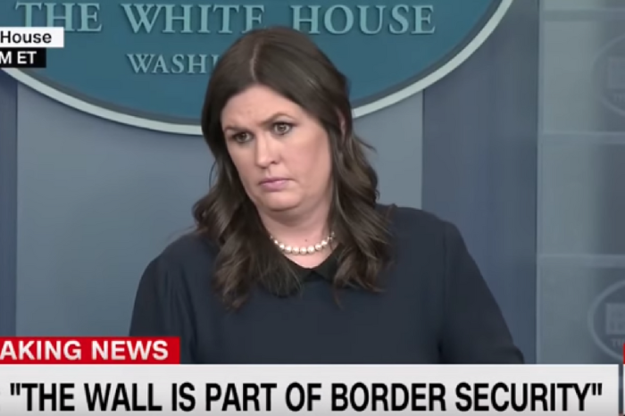 Watch Sarah Huckabee Sanders completely shut down a CNN reporter during a testy press briefing