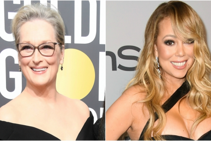 Mariah Carey stole Meryl Streep's seat at the Golden Globes, and Meryl responded