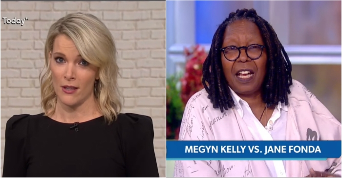 "The ladies of ""The View"" pulled no punches when they addressed the feud between Megyn Kelly and Jane Fonda"