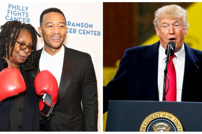 It didn't take long for John Legend to condemn the government shutdown as racist