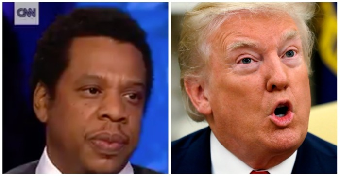 "Jay-Z went on CNN and called Trump a ""superbug"" — it didn't take long for POTUS to respond"