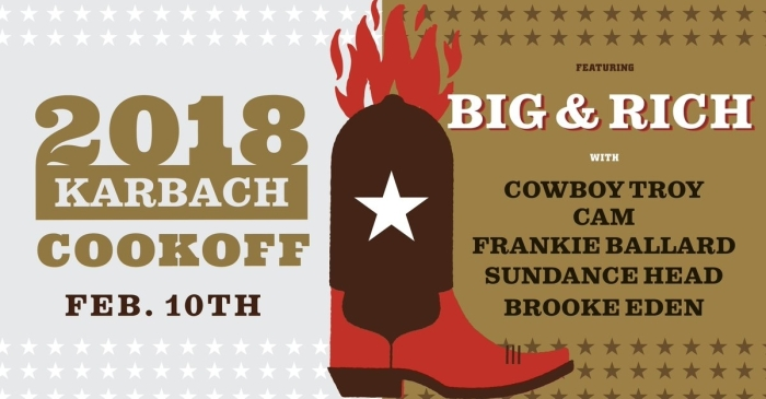 Karbach Cookoff pairs good eats, delicious brews and popular tunes to raise funds for Houston firefighters