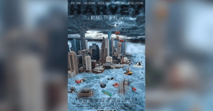 Movie magic could bring Hurricane Harvey back to life, while showing the goodness inside the Bayou City