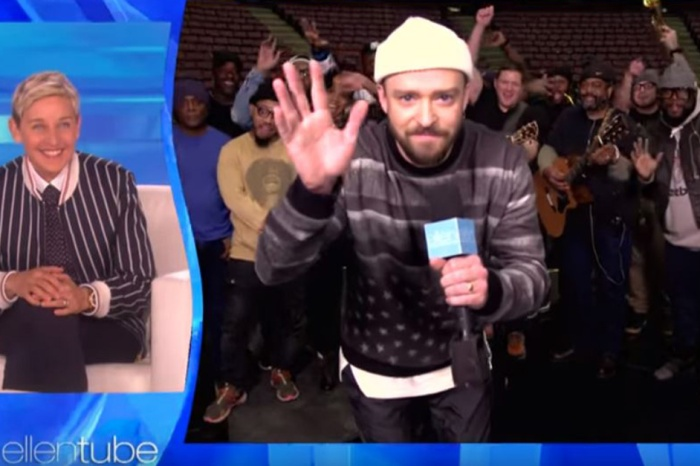 Justin Timberlake just gave Ellen DeGeneres the sweetest present for her 60th birthday