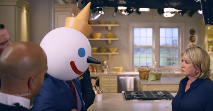 Jack in the Box has a bone to pick with Martha Stewart in this LOL-worthy Super Bowl commercial