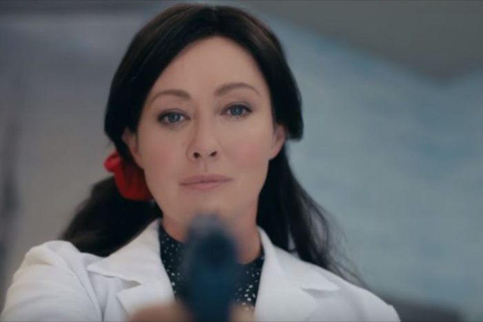 After battling cancer, Shannen Doherty is back on screen in this very NSFW trailer