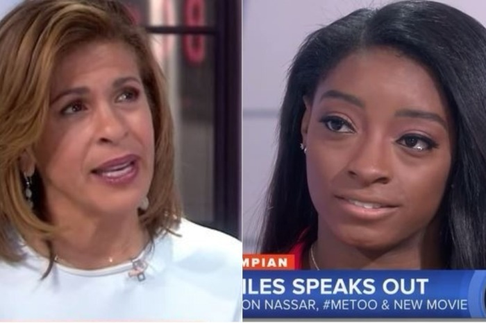 Hoda Kotb and Simone Biles were both in tears talking about how Larry Nassar rocked gymnastics