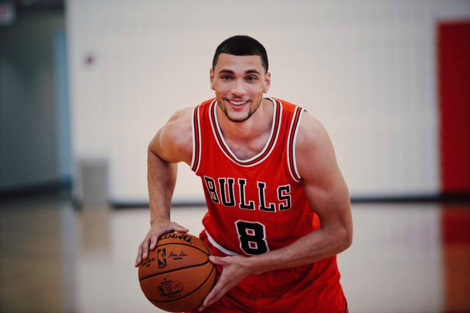 Bulls Zach LaVine to debut same night as his bobble head