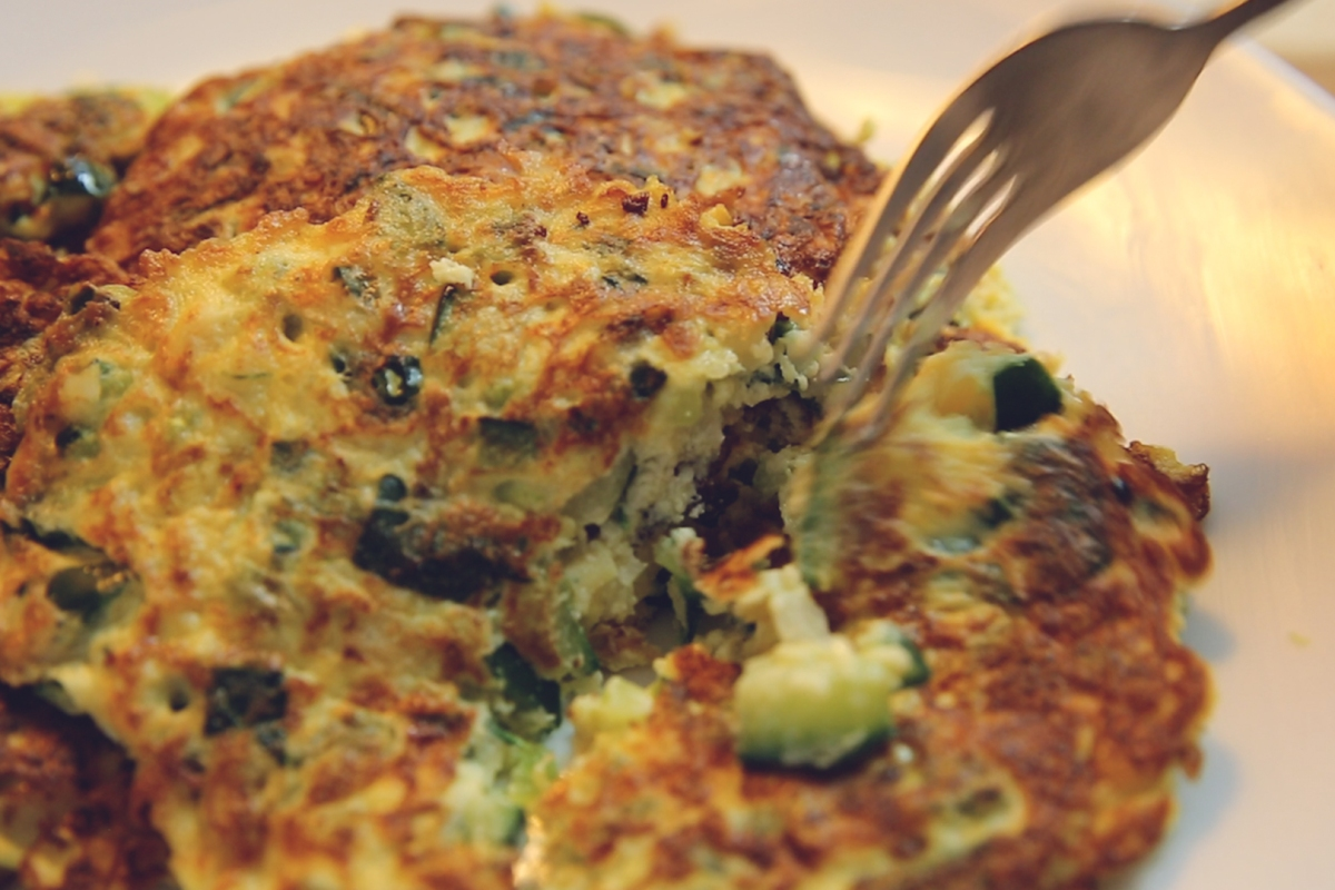 Let's Make | These zucchini hash browns are nothing short of heavenly