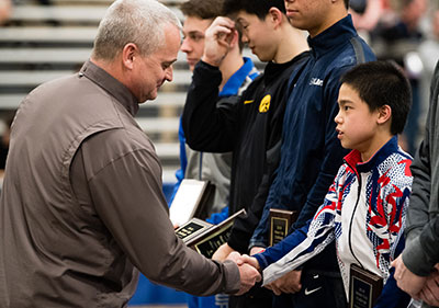 Tomball resident wins junior men's all around category at USA Gymnastics Winter Cup