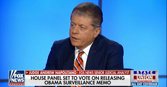 Judge Napolitano says Congress may have already caused harm by delaying the release of a controversial memo on government surveillance