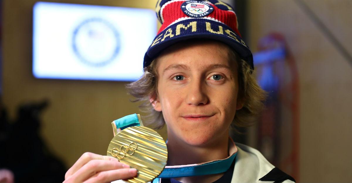 A U.S. Olympian managed to make history despite some classic teen antics