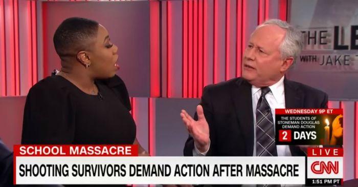 A CNN panelist thinks the FBI didn't act on the Nikolas Cruz warning because of his race