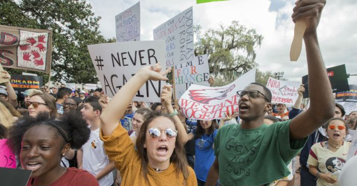 A Texas district warns students this will happen if they protest gun violence during school hours