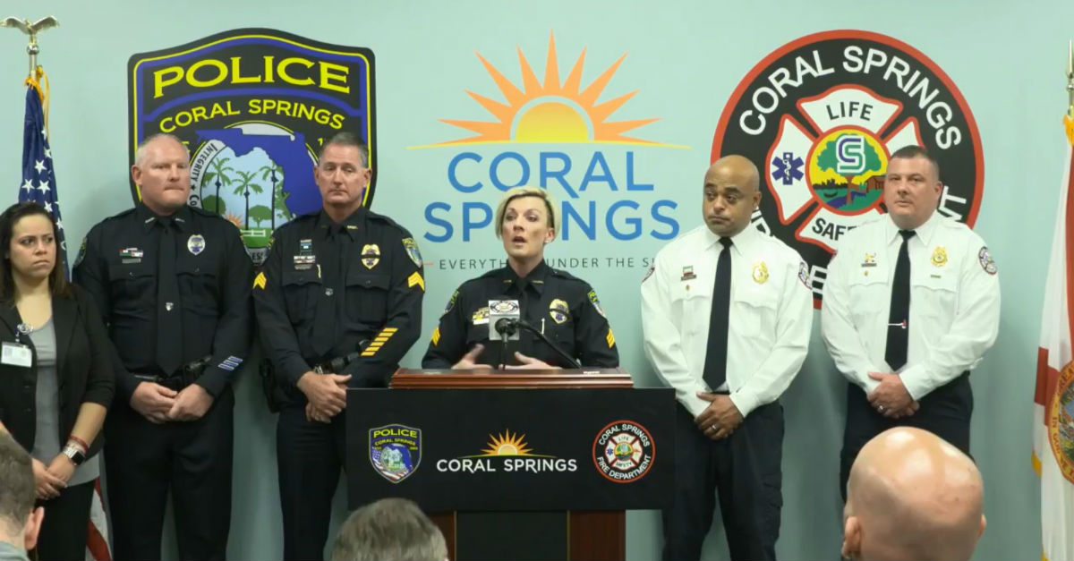 Coral Springs police detail heroism in shooting at Marjory Stoneman Douglass High School in Parkland, Florida