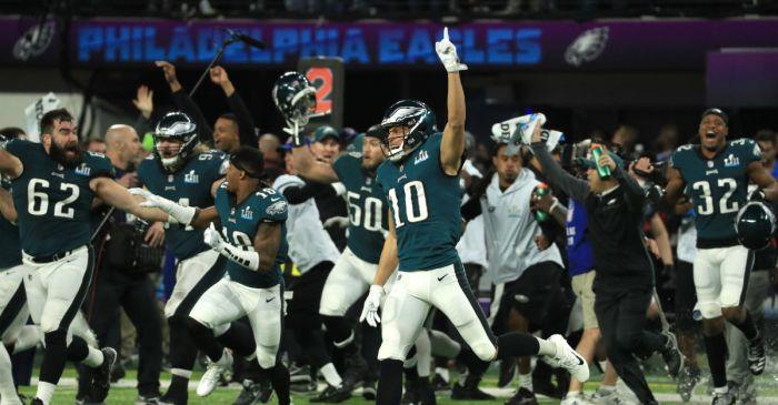 The Philadelphia Eagles didn't hesitate to put their faith on full display this week