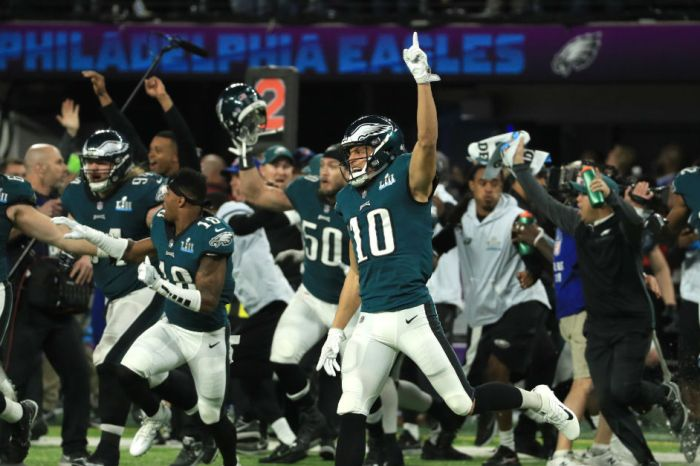 The Philadelphia Eagles didn't hesitate to put their faith on full display this week