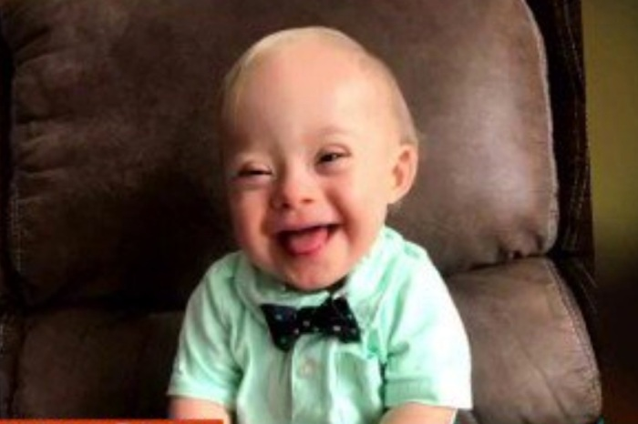 Gerber just announced their first Down syndrome Spokesbaby in 90 year history
