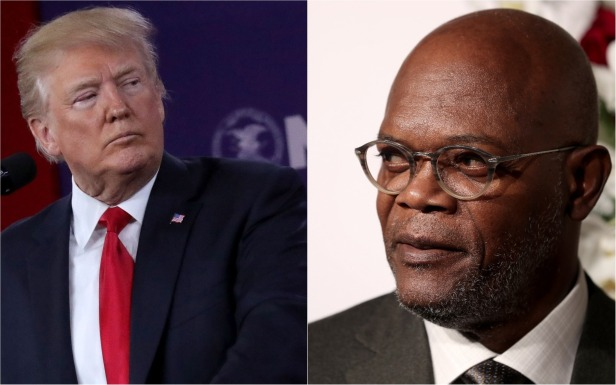 """Samuel L. Jackson calls President Trump a """"muthaf***a"""" while weighing in on the gun debate"""