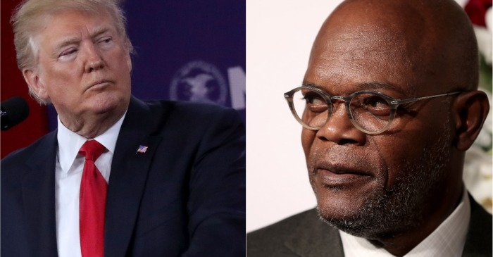 "Samuel L. Jackson calls President Trump a ""muthaf***a"" while weighing in on the gun debate"