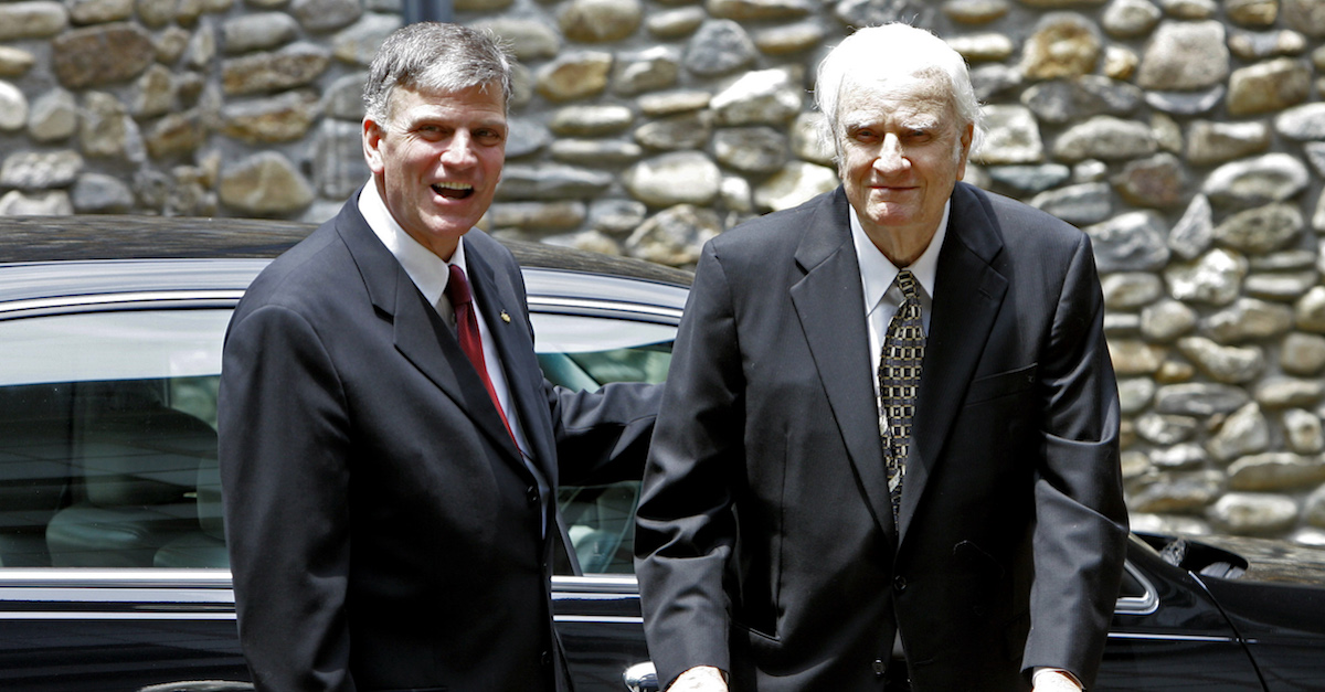 Billy Graham obituary death Franklin Graham