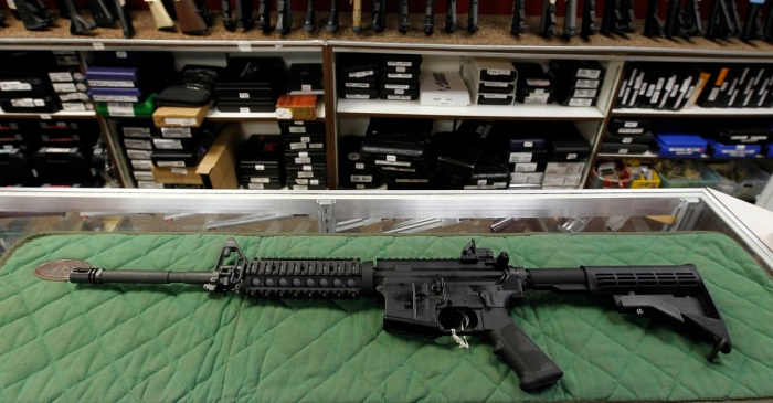 One of the largest sporting goods shows in the areas just banned the sale of AR-15s