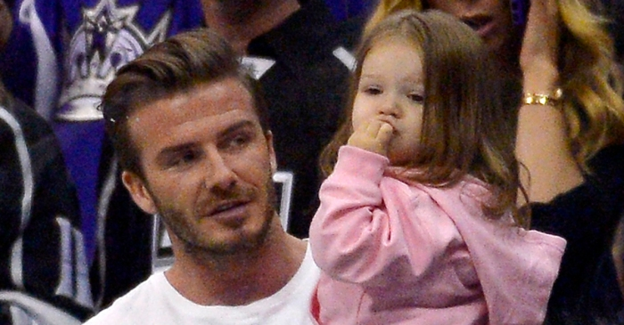 Victoria and David Beckham's little girl is growing up quick and showing off some amazing musical chops