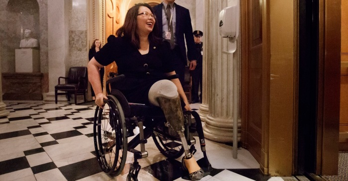 Sen. Tammy Duckworth criticizes Trump's comments about Democrats response to his State of the Union address