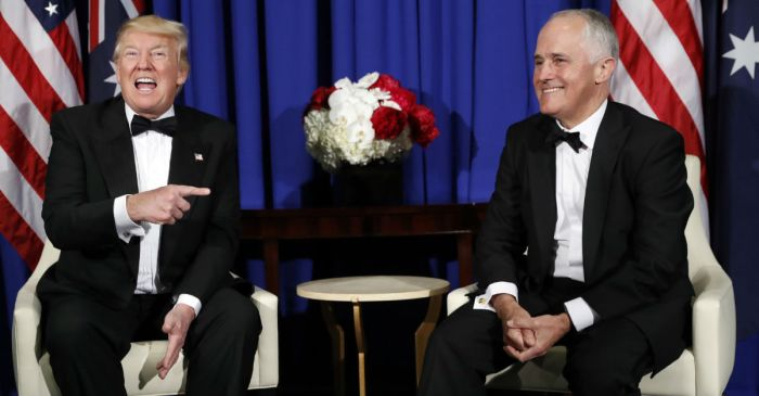 Australia's prime minister takes shots at American gun policy at latest visit to the White House