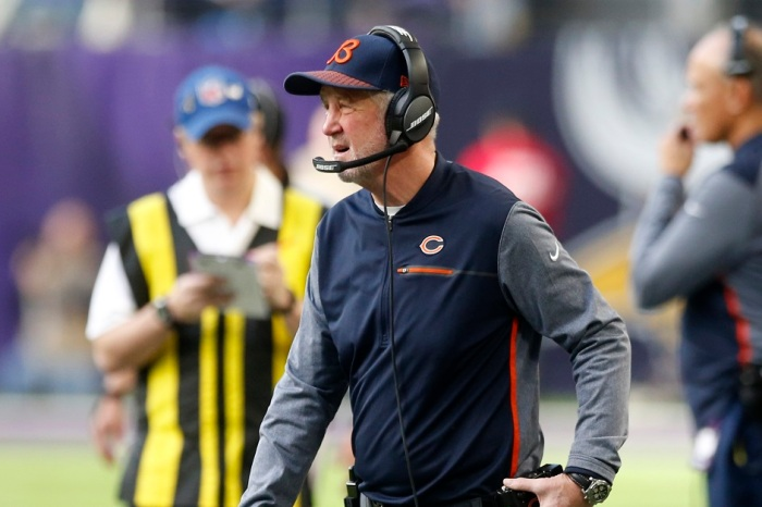 John Fox speaks publicly for the first time since being fired as the Chicago Bears coach