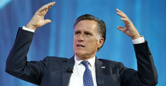 Mitt Romney is officially back in the game with his latest announcement