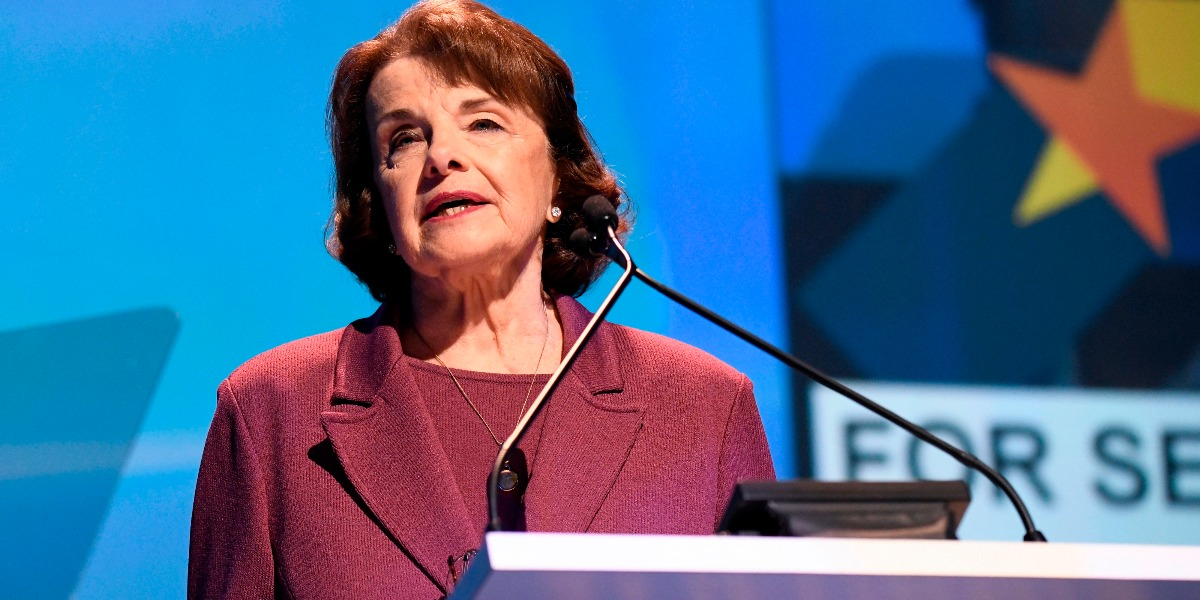 Dianne Feinstein, California Democrats